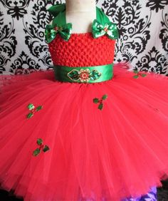 75e8adb60659 Red Holly Outfit Holly Dress Holly tutu dress Xmas outfit Holiday dress Baby  Girl Clothing Girls Clothing Xmas Tutu Holiday Tutu dress