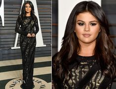 Selena Gomez at the vanity fair after party oscars 2015