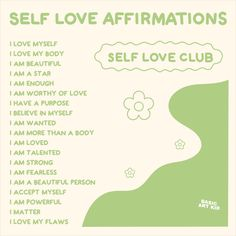 Image Deco, Vie Motivation, Self Love Affirmations, Love My Body, Happy Words, Quote Aesthetic, Aesthetic Pastel, Good Energy, Pretty Words