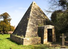 The Pyramid in Brightling church grave yard where Mad Jack Fuller is buried. http://en.wikipedia.org/wiki/John_'Mad_Jack'_Fuller Photo by   By Iconoclast! (shutterclutter.co.uk) on Flickr