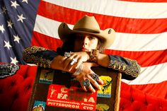 GoD bless america. and cowboy hats.