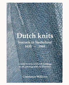 Constance Willems Knitdesign {available in library TextielMuseum}