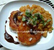 udaipur food channel: RAGADA PETTICE