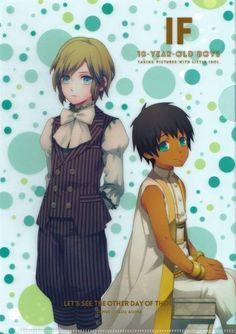 Uta no Prince-sama - Camus and Aijima Cecil