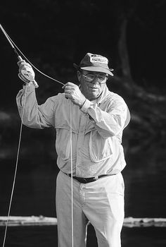 The Principles of Casting - Fly Fisherman Lefty Kreh one of my Heros