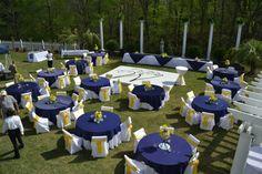 Wedding Table Ideas Navy Green 69 Ideas For 2019 Blue Sunflower Wedding, Sunflower Wedding Decorations, Yellow Wedding, Wedding Centerpieces, Wedding Table, Wedding Colors, Wedding Reception, Rustic Wedding, Reception Ideas