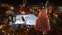Syracuse NY -clinton square downtown ..syracuse ny