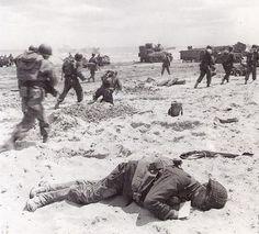 d-day omaha beach landing