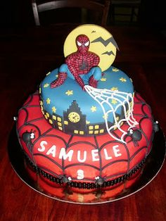 La Boutique Della Torta: Spiderman Cake