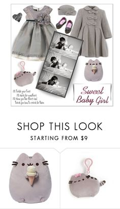 """""""Sweet baby girl"""" by outfitsloveyou ❤ liked on Polyvore featuring Gund and WALL"""