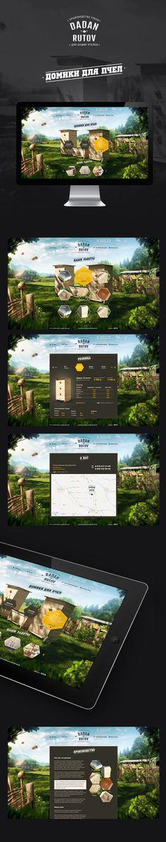 Diseño de interfaz. Esta pagina web es una mezcla equilibrada de imagen…
