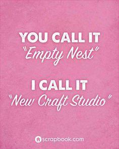 Empty nest to craft studio