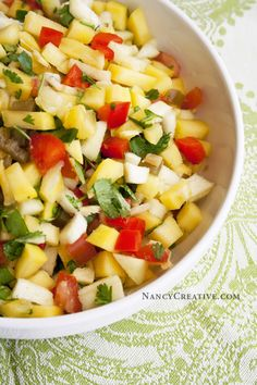 Mango-Jalapeno Salsa from The Daniel Plan Cookbook |  Posted on March 25, 2014  | by nancyc