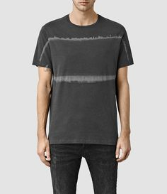 Men's Level Crew T-Shirt (Vintage Black) -