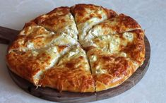 Pizza, Cheese, Greek Recipes, Food And Drink, Bread, Snacks, Baking, Breakfast, Brot