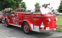 American LaFrance Fire Engine.