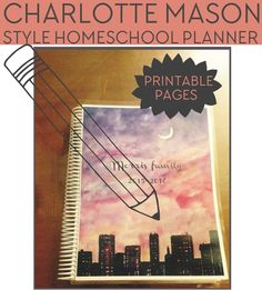 Homeschool Planner Printables - a variety of pages available to download, print and use for planning your homeschool year