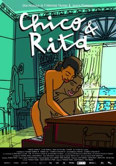 Cartel de Chico y Rita