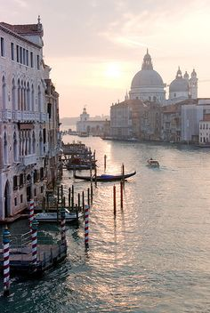 Grand Canal from the Accademia Bridge, Venice, Veneto, Italy by janinejoles, via Flickr