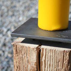 produktewerkstatt ruedi humbel kerzenständer stupido Barware, Coasters, Home, Old Wood, Workshop, Steel, Products, Ad Home, Homes