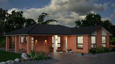 Evening Exterior rendering