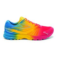 Brooks Launches Crazy-Colored Shoe Line This is one way to stand out on the b9b1d887f