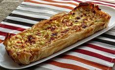 EN UNA SERVILLETA nos deja una rica tarta salada que es una opción genial para… Leek Pie, Good Food, Yummy Food, Empanadas, Goat Cheese, Vegetable Pizza, Tapas, Banana Bread, Sandwiches