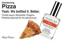 Eau de pizza