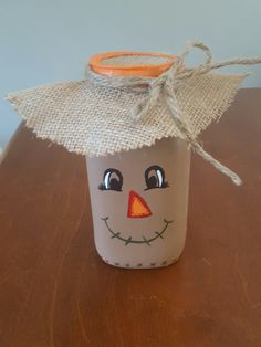 Mason jar scarecrow                                                                                                                                                                                 More