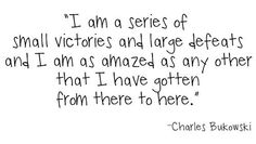 Group of: 25 lessons from Charles Bukowski | Art-Sheep | | We Heart It