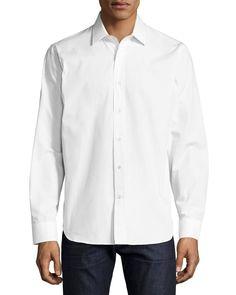 R by Robert Graham Elvis Presley Sport Shirt, White