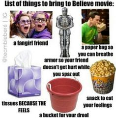 Lol, I might just bring all these things ;p