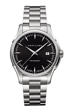 Hamilton Mens H32665131 Jazzmaster Black Dial Watch * For more information, visit image link. (This is an Amazon affiliate link)