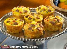 Looks like a great breakfast buffet idea