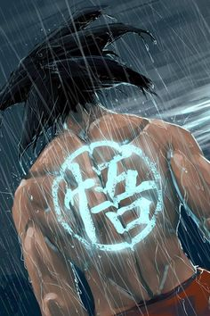 Goku back tat