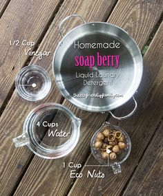 Soap Nuts Detergent Recipe - Liquid