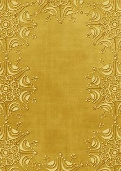 Gold Embossed Snowflake Border A4 Backing Paper on Craftsuprint designed by Ann-marie Vaux - This backing paper could be used for so many of your paper projects. Ideal to mix and match with other items or to matt and layer with other shades. Please click the multi link option button for colourways in this design. - Now available for download!