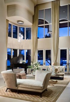 Luxury Contemporary Interior.