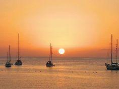 Atardecer en la playa de Arguineguin. Mogan. Gran Canaria 🇮🇨