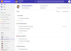 People Details: The People list is a quick filter to the the details and all tasks assigned to a specific team member #teamwork #productivity #teammanagement
