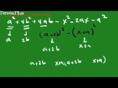 Combinación de trinomio cuadrado perfecto y diferencia de cuadrados