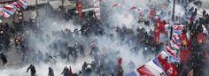 Berkin Elvan Protests. 12 March 2014 - Istanbul