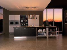 Mobili arredissima ~ Cucina lineare moderna in frassino color miele. arredissima