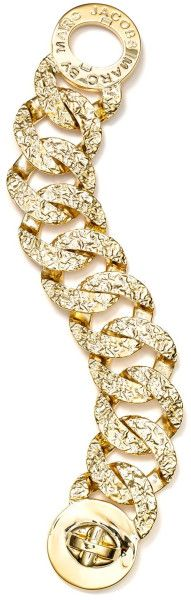 Marc By Marc Jacobs Exploded Apocalyptic Katie Bracelet in Gold (oro) - Lyst