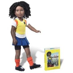 Karito Kids Lulu From Kenya World Collection Doll/Book Starter Set