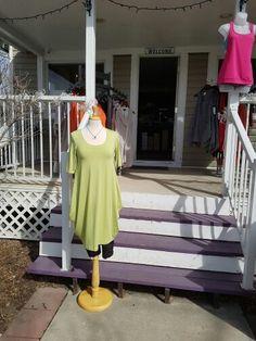sunny #apple colour,  from #TrueEssence $110 #bamboo fabric  #Okotoks #boutique #shopping  www.jazmineharbour.ca Elizabeth Street, Sunnies, Bamboo, Abs, Apple, Colour, Boutique, Fabric, Shopping