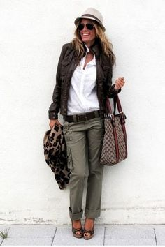 I love cargo pants AND Gucci Bags!