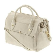 Marc by Marc Jacobs Preppy Leather Pearl ($327) ❤ liked on Polyvore