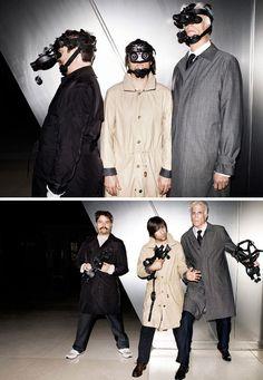 Zach Galifianakis, Jason Schwartzman & Ted Danson (i love on bored to death SO HARD!)