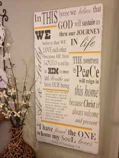 Personalized Wood Sign - extra large - 18x36 - great wedding gift, housewarming gift, favorite family quotes